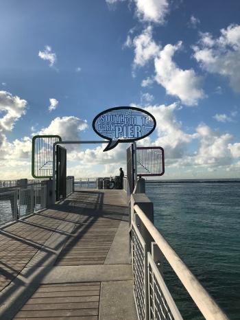 Correte sul Pier, nonostante il vento...