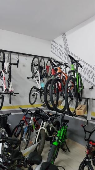 La scelta vasta delle bici