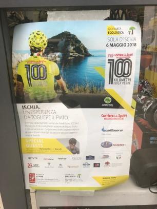 Locandina ufficiale 100KM di Ishcia